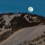 Moonrise over Storm Peak