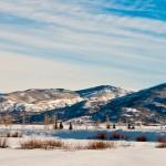 The Valley Under Snow
