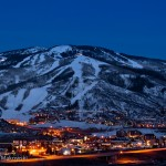 The Ski Area at Night