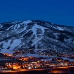 The Ski Area at Night