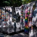 A Peace Wall at Ueno Park